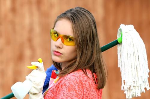 Blogga om städning